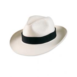 Chapeau Panama blanc très souple aéré et léger en cellulose unisexe Serie-Graffic