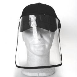 Casquette Screen Cap Noir - pack de 100 pièces