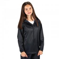 Veste capuche ciré de pluie imperméable et ajustable polyester enduit Stormbreak enfant Regatta