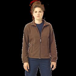 Veste polaire de travail poignets élastiqués chaude et très solide polyester 250 grs-m2 Deva femme Herock