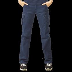 Pantalon de travail coupe droite multipoches déperlant 65-35 polycoton 230 grs-m2 Athena femme Herock