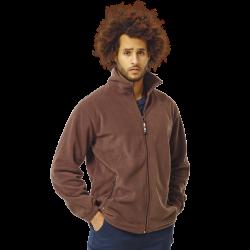 Veste polaire de travail poignets élastiqués chaude et très solide polyester 250 grs-m2 Darius homme Herock