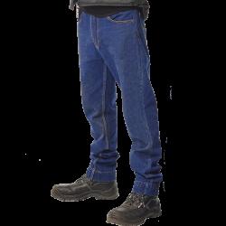 Pantalon Jean de travail 100% coton 500 grs-m2 coupe droite braguette zippée Pluto homme Herock