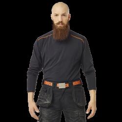 Tee-shirt sous-pull col roulé manches longues coton - élasthanne 200 grs-m2 Lotis homme Herock