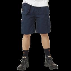 Bermuda de travail multipoches + poche à clous solide taille ajustable polycoton 260 grs-m2 Pallas homme Herock