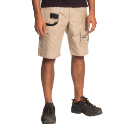 Bermuda de travail multipoches + 1 poche à clous amovible solide polycoton 210 grs-m2 Batua homme Herock