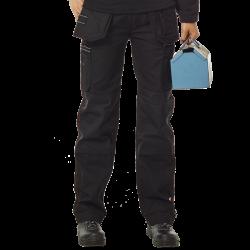Pantalon multipoches genouillères + poches à clous amovibles polycoton 320 grs-m2 Hercules homme Herock
