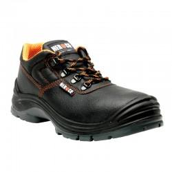 Chaussures de sécurité basses S3 embout composite cuir noir 1,40 kg Primus unisexe Herock
