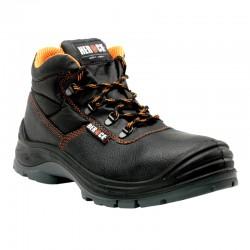 Chaussures de sécurité hautes S3 embout composite cuir noir 1,42 kg Primus unisexe Herock