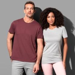T-shirt col rond tubulaire coton doux 155 grs-m2 Classic-t homme Stedman