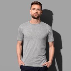 T-shirt près du corps col rond coton doux 155 grs-m2 Fitted homme Stedman