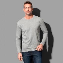 T-shirt manches longues col rond coton épais 185 grs-m2 Comfort-t homme Stedman