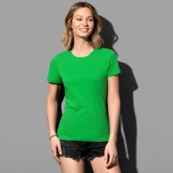 T-shirt près du corps col rond coton doux 155 grs-m2 Classic-t femme Stedman