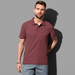 Polo manches courtes col 2 boutons 100% coton 170 grs-m2 homme Stedman
