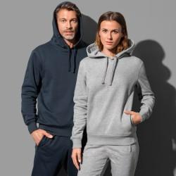 Sweatshirt capuche recycled unisexe