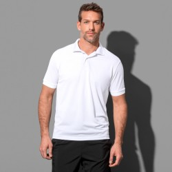 Polo piqué manches courtes polyester respirant 180 grs-m2 homme Stedman