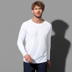 Tee-shirt sport polyester respirant manches longues 140 grs-m2 homme Stedman