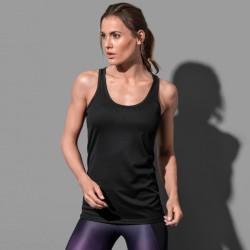Débardeur dos nageur sport polyester respirant 140 grs-m2 femme Stedman