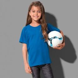 Tee-shirt sport polyester respirant manches raglan 140 grs-m2 enfant Stedman