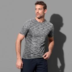 Tee-shirt sport stylisé polyester respirant 140 grs-m2 près du corps homme Stedman