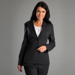 Veste de tailleur à 2 boutons extensible à doublure jacquard 54% polyester 44% laine Cadenza femme Alexandra