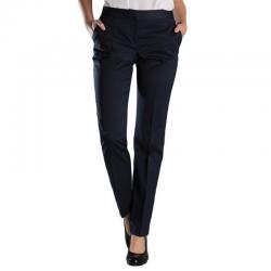 Pantalon de tailleur coupe étroite stretch ceinture élastiquée 54% polyester 44% laine Slim Cadenza femme Alexandra