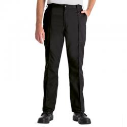 Pantalon droit avec pinces 3 poches braguette zipée 65-35 polycoton 245 grs-m2 Essential homme Alexandra
