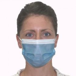Masque FFP2 non médical UNS2 jetables 3 plis ajustables nasal adultes x 50 unisexe Serie-Graffic