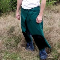 Tablier protège pantalon de jardin avec devant refendu pour sagenouiller XPP X-fit