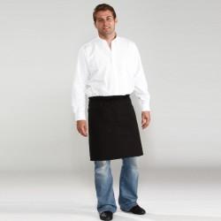 Tablier bas de barman avec longue lie de serrage 65-35 polyester-coton 195 grs-m2 E151 Premier