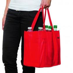Sac publicitaire 6 bouteilles en polypropylène réutilisable et recyclable SBOU Serie-Graffic