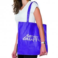 Sac publicitaire tote bag polypropylène réutilisable et recyclable hxl=42x38cm Shopping SST Serie-Graffic