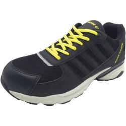 Chaussure basket de sécurité basse tissu aéré embout acier S1P Trainer unisexe Result