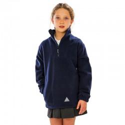 Sweat polaire épais col zippé poches latérales 330 grs-m2 enfant (3 à 10 ans) Result