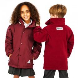 Veste reversible capuche imperméable et polaire 280 grs-m2 enfant (2 à 10 ans) R160J Result
