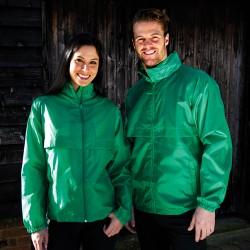 Coupe-vent très léger non doublé à capuche 2 poches dont 1 zippée polyester unisexe R204X Result
