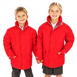 Parka longue très chaude matelassée imperméable ouatine 160 grs-m2 Winter enfant (3 à 14 ans) R207J Result