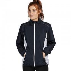 Veste de sport légère déperlante et respirante doublée filet polyester 84 grs-m2 Athens femme TRA413 Regatta