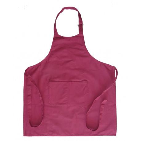 Tablier ChefTablier Chef coton épais 290 grs-m2 long 91 cm résistant et absorbant lie à boucle métal XCHEF X-fit