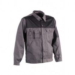 Veste de travail multipoches non-doublée légère 65-35 polyester-coton 230 grs-m2 Aton unisexe Herock