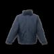 Blouson imperméable solide capuche col doublé polaire 220 grs-m2 Dover homme TRW297 Regatta