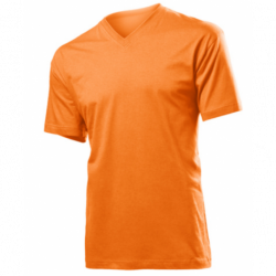T-shirt Classic.-t v-neck homme