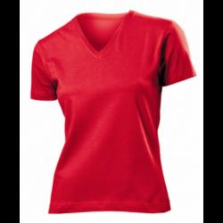 T-shirt  Classic-t v-neck femme