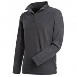 Sweat Active fleece half zip homme