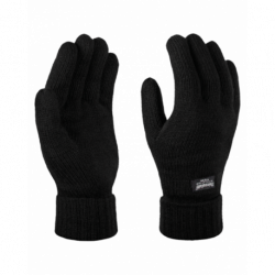 Gants tricot acrylique doublé polaire poignet resserré Thinsulate unisexe Regatta