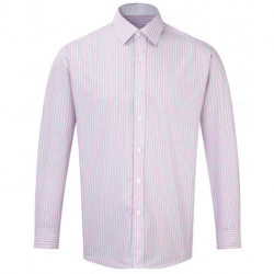 Chemise a rayures homme m. longues