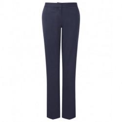 Pantalon de tailleur coupe classique extensible à ceinture élastiquée 54% polyester 44% laine Cadenza femme NF704 Alexandra