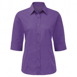 Chemise Easycare manches 3/4 femme