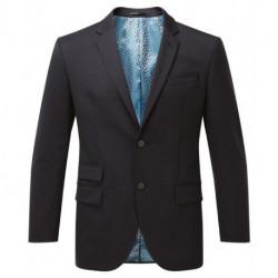 Veste de costume 2 boutons coupe classique extensible doublure jacquard 54-44 polyester-laine Cadenza homme Alexandra