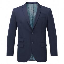 Veste de costume 2 boutons coupe classique extensible doublure jacquard 54-44 polyester-laine Cadenza homme NM701 Alexandra